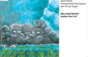 Awan Berwarna Hitam Saat Turun Hujan
