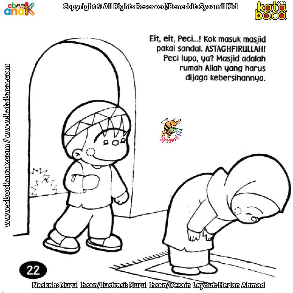 Ayo, Kita Jaga Kebersihan Masjid