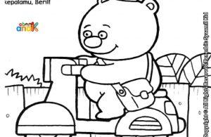Beril Beruang Tidak Suka Pakai Helm