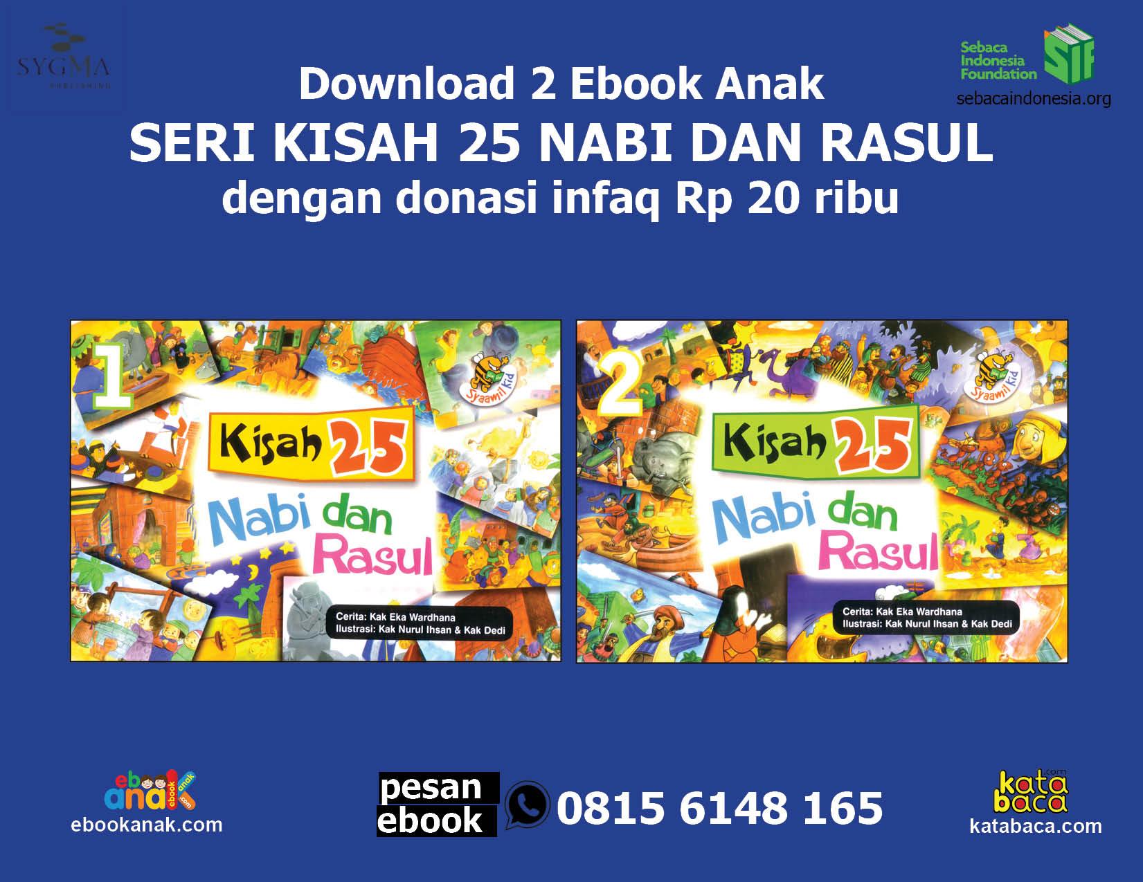 download 2 ebook seri kisah 25 nabi dan rasul