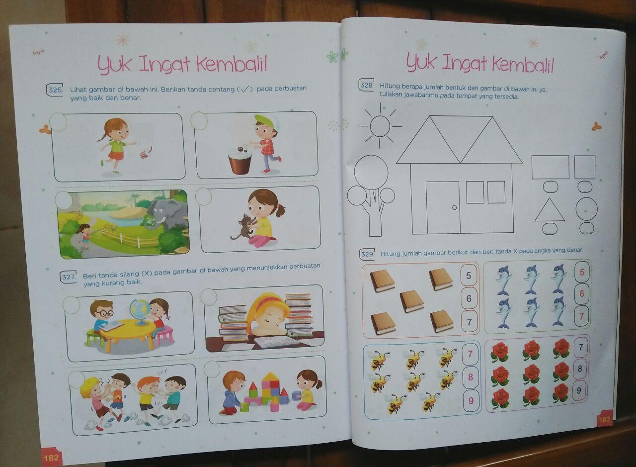 Superlengkap! Berisi 365 aktivitas atau soal untuk anak usia 4-7 tahun (sumber foto istimewa)