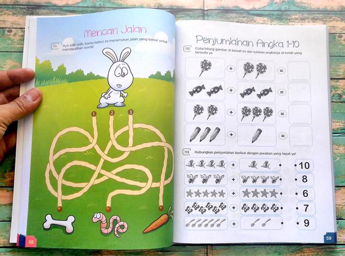 berbagai aktivitas game seperti maze games, puzzles, spot the differences, drawing dan colouring (sumber foto istimewa)