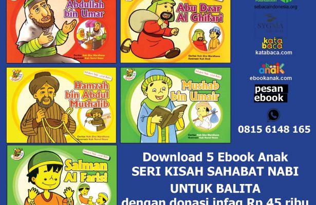 download 5 ebook seri kisah sahabat nabi