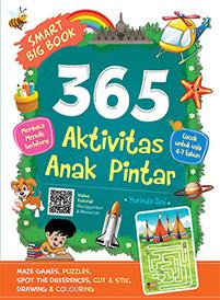 jual buku smart book 365 Aktivitas Anak Pintar