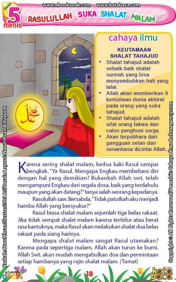 baca buku online 52 kisah Terbaik Nabi Muhammad penuh hikmah teladan20 Ternyata, Inilah Penyebab Kedua Kaki Rasulullah Sampai Bengkak