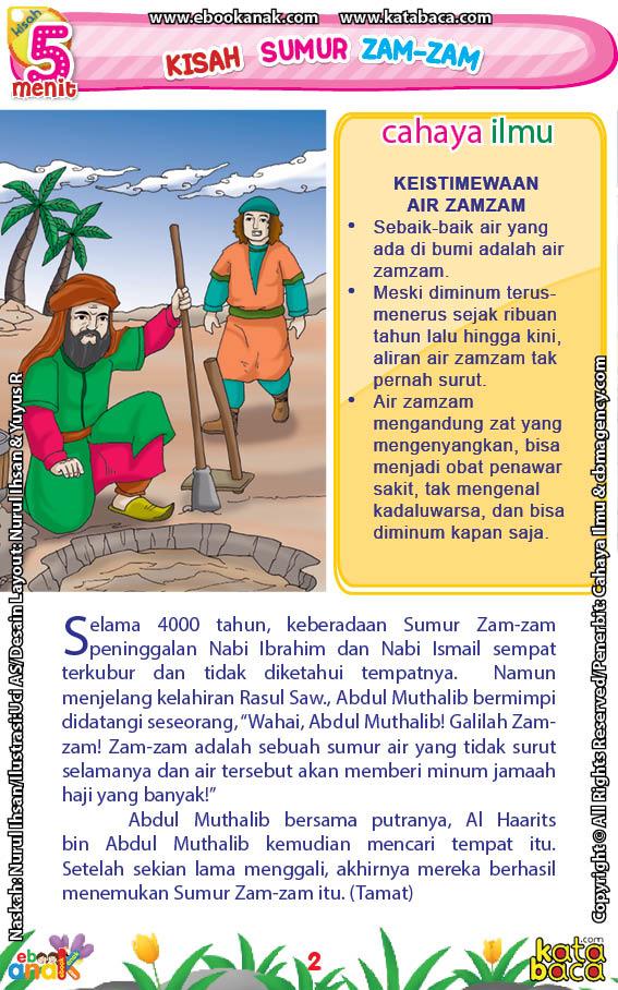 Kisah Sumur Zam-Zam yang Pernah Terkubur 4000 Tahun
