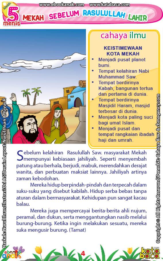 baca buku online 52 kisah Terbaik Nabi Muhammad penuh hikmah teladan6 Inilah Kemaksiatan Penduduk Mekah Sebelum Kedatangan Nabi Muhammad