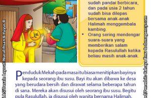 baca buku online 52 kisah Terbaik Nabi Muhammad penuh hikmah teladan9 Kenapa Saat Kecil, Nabi Muhammad Diasuh Oleh Ibu Angkat