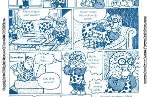 baca buku online komik ibadah centil centil cerdas, Akibat Makan Permen Kebanyakan