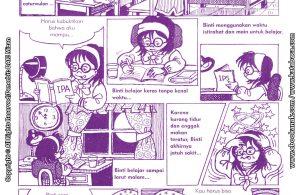 baca buku online komik ibadah centil centil cerdas, Belajar Keras ingin jadi juara
