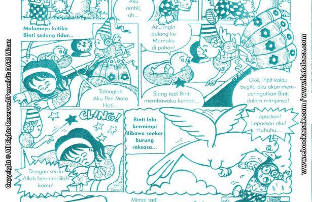 baca buku online komik ibadah centil centil cerdas anak burung