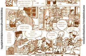 baca buku online komik ibadah centil centil cerdas, jambu air binti yang suka dicuri anak-anak