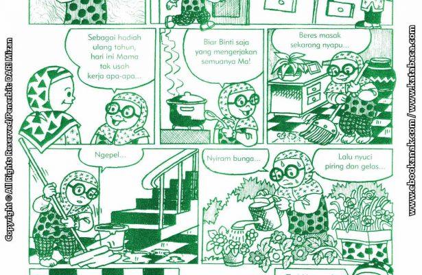 baca buku online komik ibadah centil centil cerdas membantu mama
