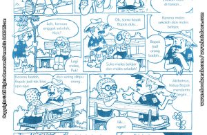 baca buku online komik ibadah centil centil cerdas, nasihat pengemis pada binti