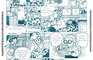 baca buku online komik ibadah centil centil cerdas suka pinjam tapi lupa mengembalikan