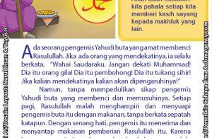 baca buku online 52 kisah Terbaik Nabi Muhammad penuh hikmah teladan42 Kenapa Pengemis Yahudi Buta itu Baru Menyesal Setelah Rasulullah Wafat