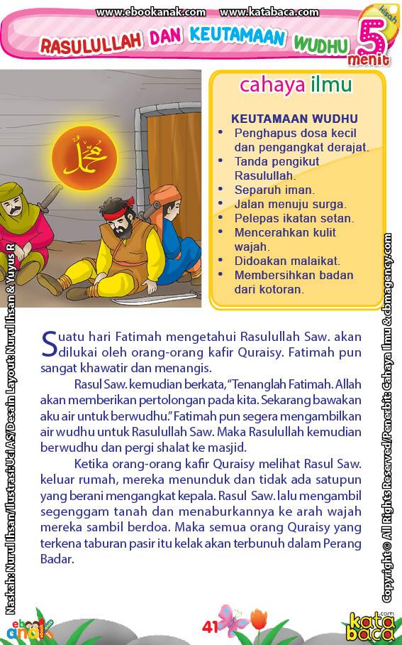 baca buku online 52 kisah Terbaik Nabi Muhammad penuh hikmah teladan43 Kenapa Rasulullah Menaburkan Pasir pada Kaum Quraisy