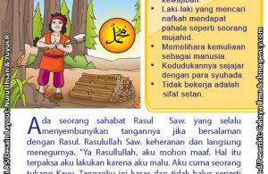 baca buku online 52 kisah Terbaik Nabi Muhammad penuh hikmah teladan46 Kenapa Rasulullah Saw Tak Sungkan Mencium Tangan Kasar Tukang Kayu