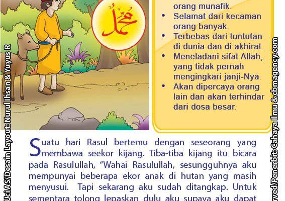 baca buku online 52 kisah Terbaik Nabi Muhammad penuh hikmah teladan51 Kisah Seekor Kijang yang Minta Rasulullah Saw Menjadi Jaminannya