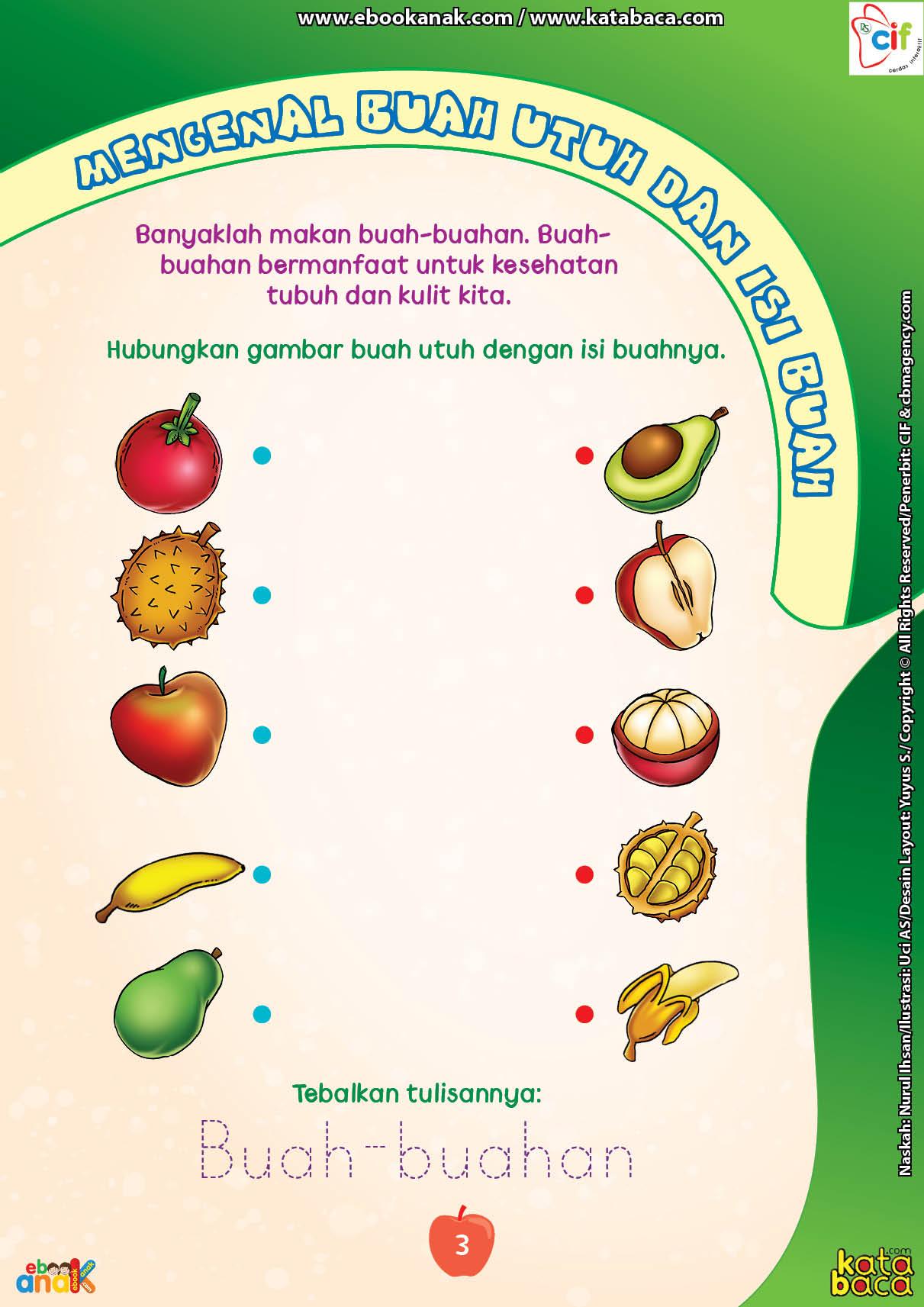 baca buku online brain games fun sains11 mengenal buah utuh dan isi buah