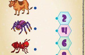 baca buku online brain games fun sains17 Mengenal Jumlah Kaki Hewan