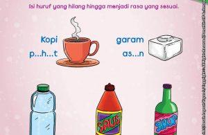 baca buku online brain games fun sains25 Mengenal Berbagai Rasa Pahit, Tawar, Asin, Manis, Pedas