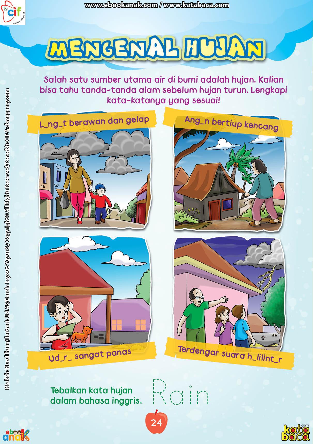 baca buku online brain games fun sains32 Mengenal Tanda-Tanda Alam Sebelum Hujan Turun