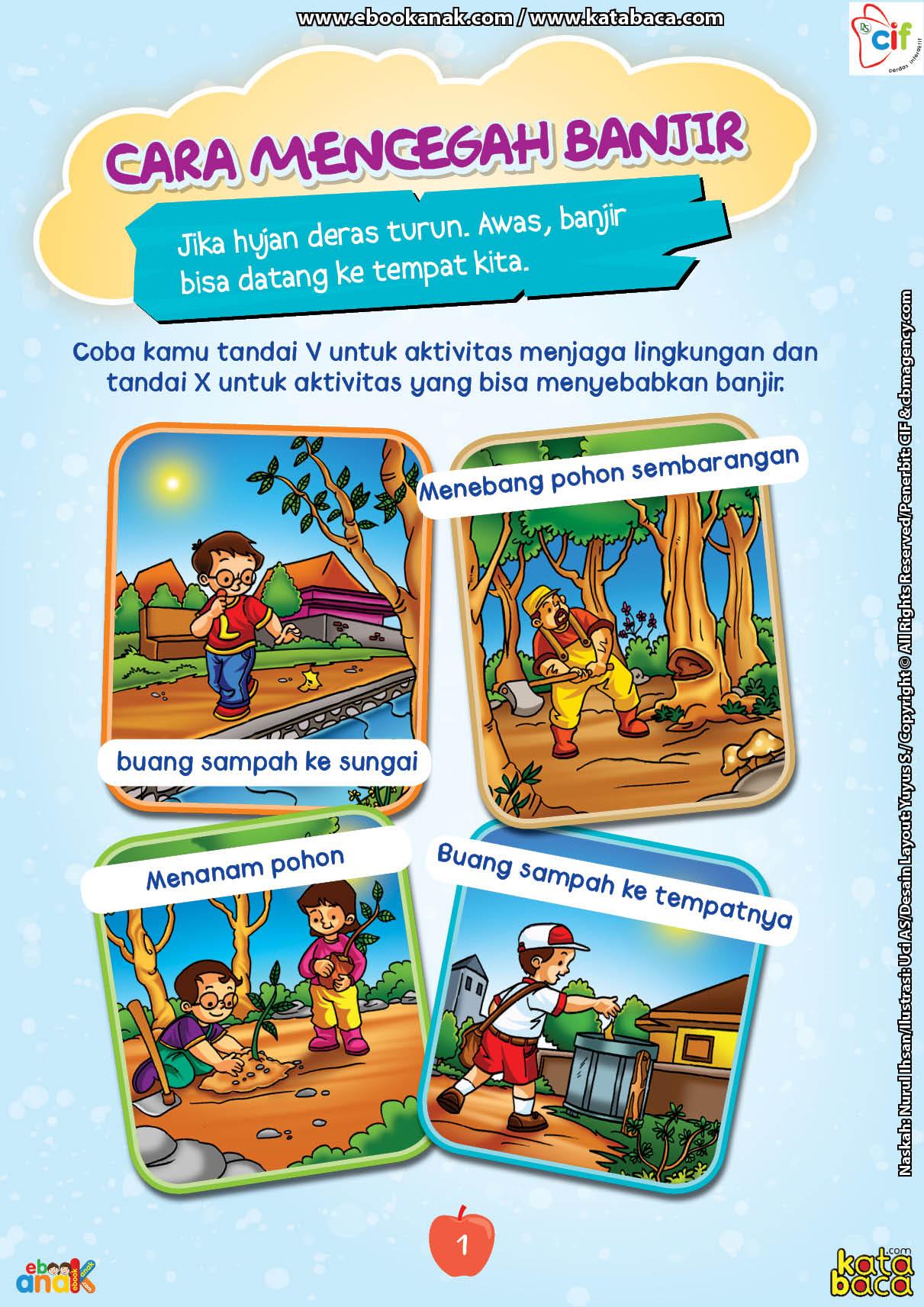 baca buku online brain games fun sains9 cara mencegah banjir