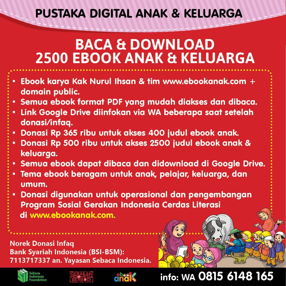 Baca dan Download 2500 Ebook Anak dan Keluarga