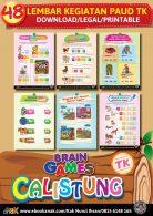 48 Lembar Kegiatan Brain Games Calistung