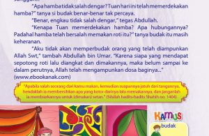 Abdullah bin Umar dan Berkah Roti Jatuh