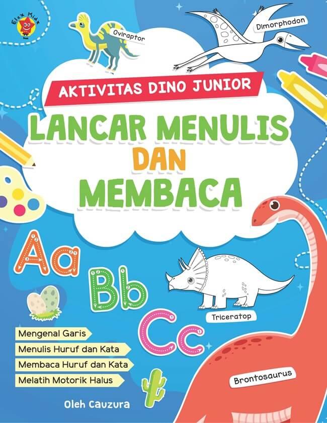 Aktivitas Dino Junior: Lancar Menulis Dan Membaca