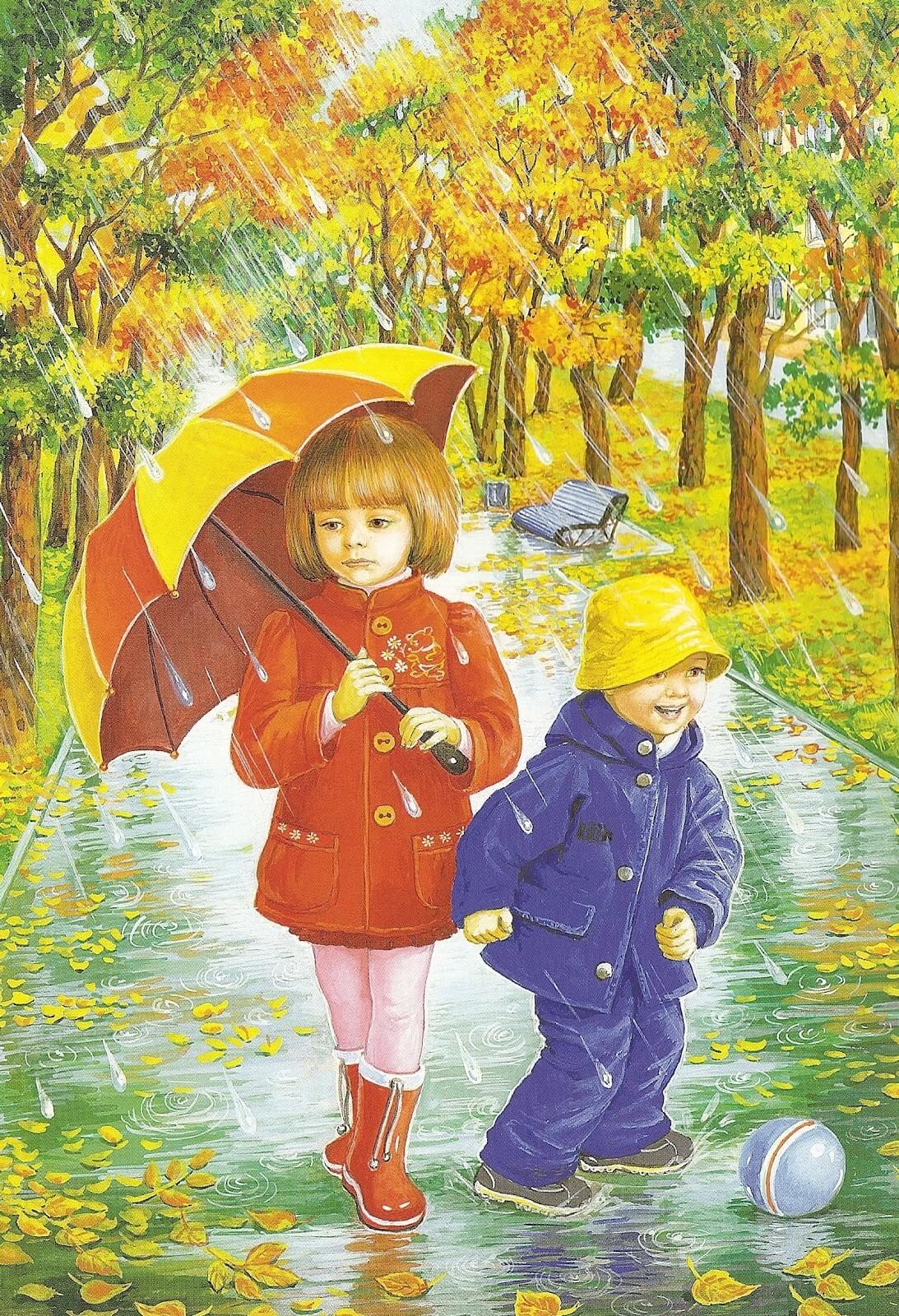 Aku Suka Hujan-Hujanan