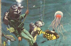 Album Cerita Ternama 20.000 Mil di Bawah Laut (Jules Verne)