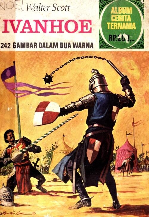 Ebook Album Cerita Ternama: Ivanhoe (Walter Scoot)