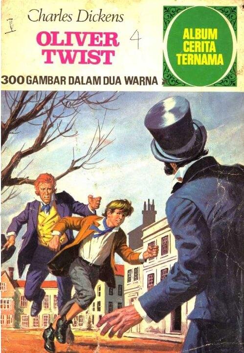 Ebook Album Cerita Ternama: Oliver Twist (Charles Dickens)