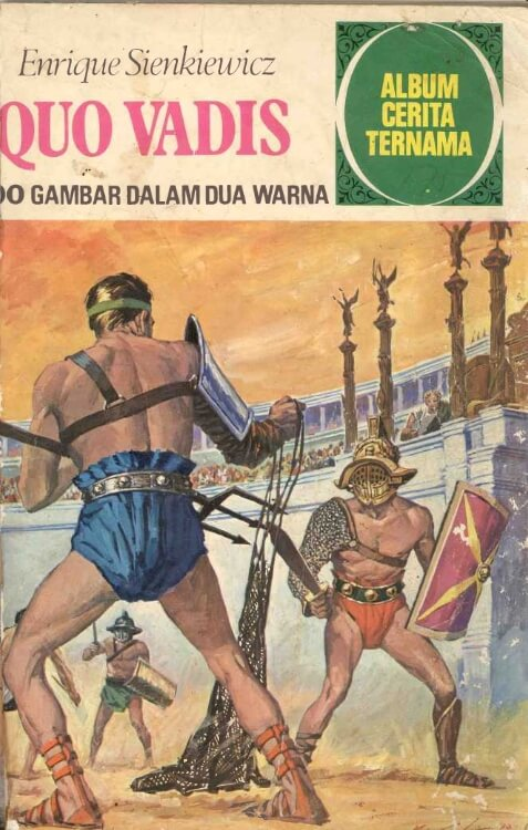 Ebook Album Cerita Ternama Quo Vadis (Enrique Sienkiewicz)
