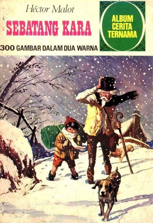 Ebook Album Cerita Ternama Sebatang Kara (Hector Malot)