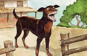 Anjing Penjaga yang Pintar Menjaga Rumah Kita