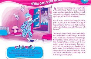 Anna dan Peri Keju