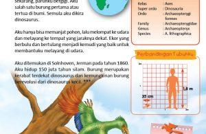 Archaeopteryx, Antara Burung Purba dan Dinosaurus