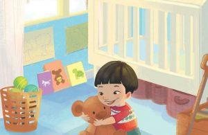 Asyik Bermain dengan Boneka Beruang