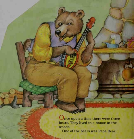 Ayah Beruang yang Pandai Bermain Musik