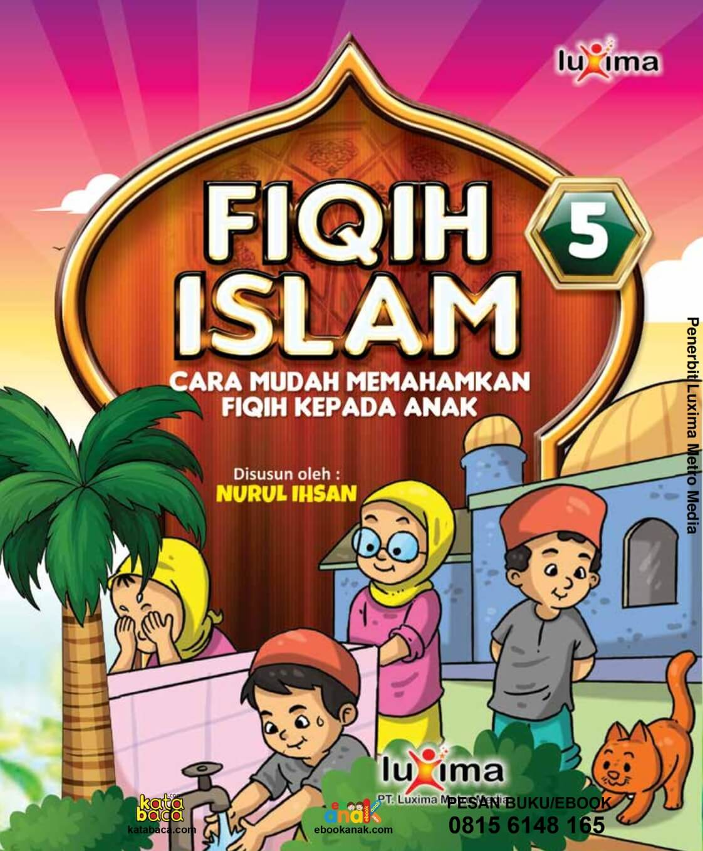 Ebook Fiqih Islam Bergambar For Kids Jilid 5