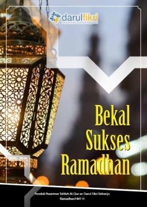Bekal Sukses Ramadhan