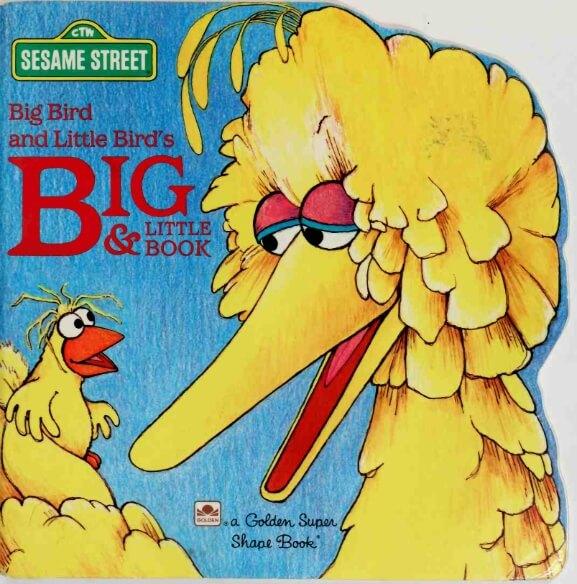 Big Bird and Little Birds Big & Little Book1