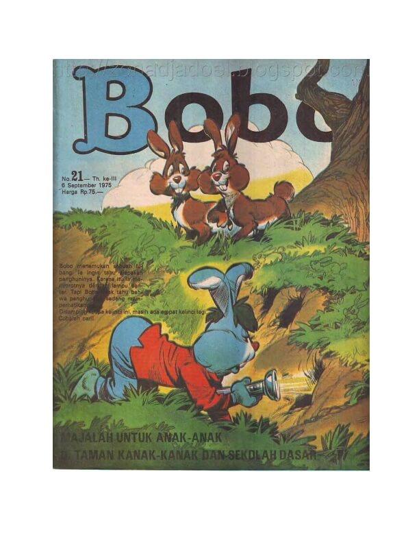 Bobo No 21 Tgl 6 September 1975