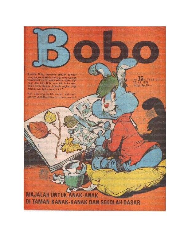Bobo No15 Tanggal 26 Juli 1975