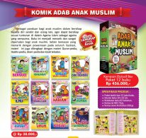 Buku-Paket-12-Komik-Adab-Anak-Muslim