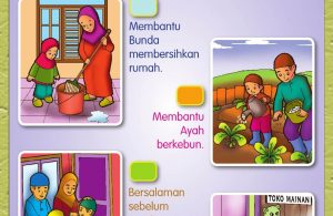 Buku Pintar Aktivitas Anak Shaleh, Akhlak pada Ayah Bunda(64)